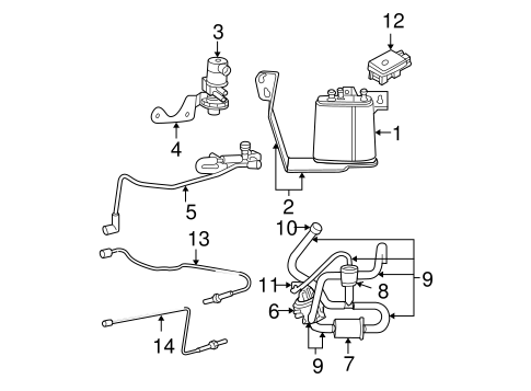 EMISSION COMPONENTS for 2003 Jeep Grand Cherokee