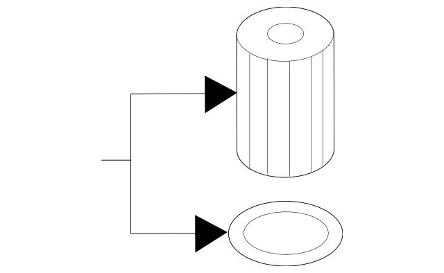 Genuine OEM Filter Element Part# 11-42-7-583-220 Fits 2008