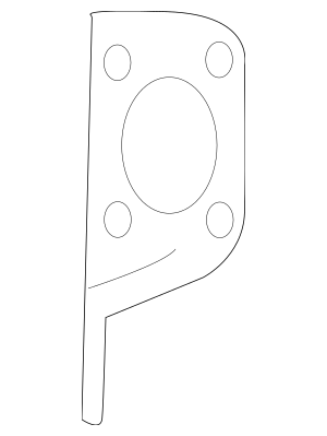 Audi Radiator Support Bracket 2003-2009 Audi 8E0-805-500
