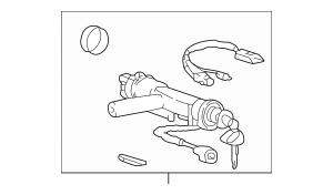 2001-2006 Kia Optima Ignition Lock Cylinder 81900-3CA30