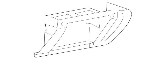 2003-2004 Kia Optima Lower Trim Panel 84760-3C500BT