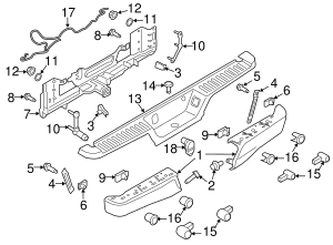 2015-2020 Ford F-150 Wire Harness HL3Z-13A576-D