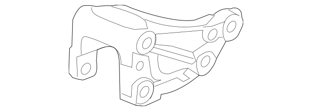 2009-2013 Honda FIT 5-DOOR Bracket, Torque Rod 50690-TF0