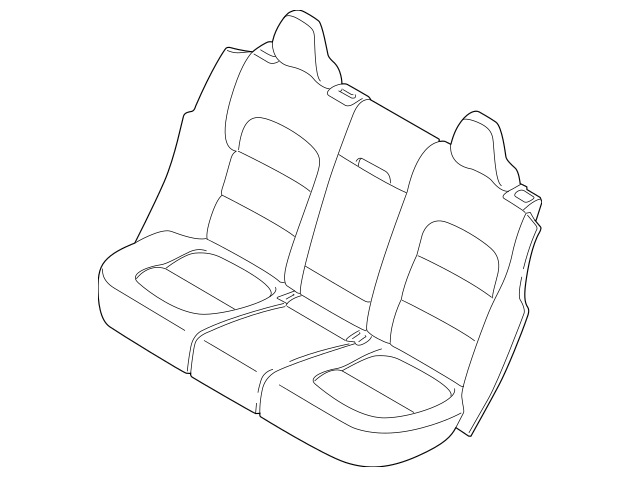 Buy this Genuine 2015-2018 Volvo Seat Cover 39829333
