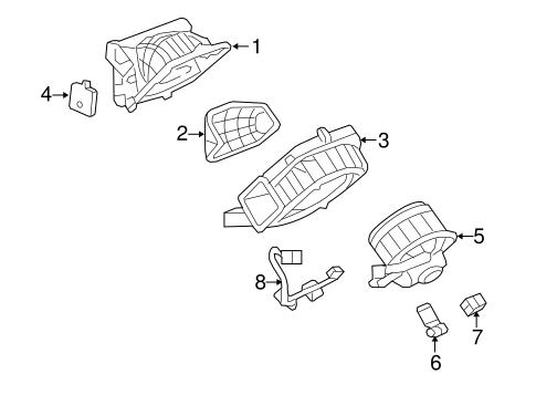 BLOWER MOTOR & FAN Parts for 2008 Saturn Sky