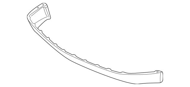 1998-2000 Mercedes-Benz SLK 230 Air Deflector 170-885-01