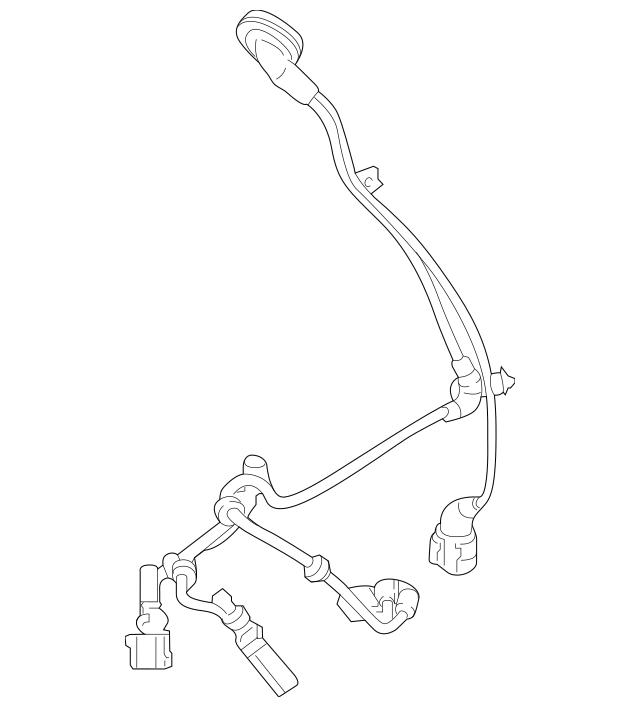 2018 Audi TT Quattro Sensor Harness 8S0-927-903-E
