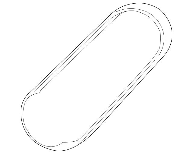 OEM Mazda Power Steering Belt For 1995-2001 Mazda Protege