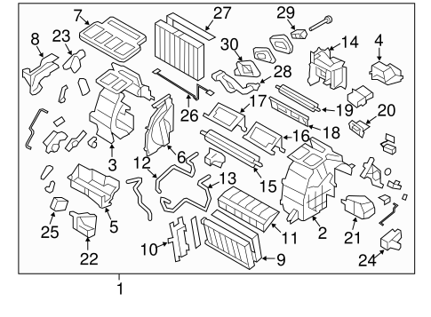 Condenser, Compressor & Lines for 2011 Subaru Impreza