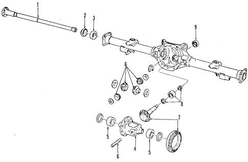 OEM DIFFERENTIAL for 1986 Chevrolet El Camino