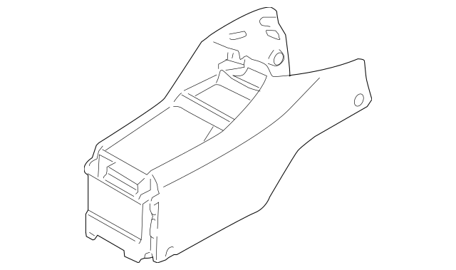 Genuine 2002-2005 Honda CIVIC HATCHBACK Console, Front