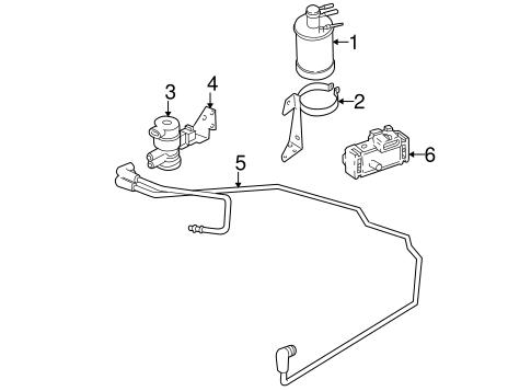 Emission Components for 2000 Jeep Wrangler Parts