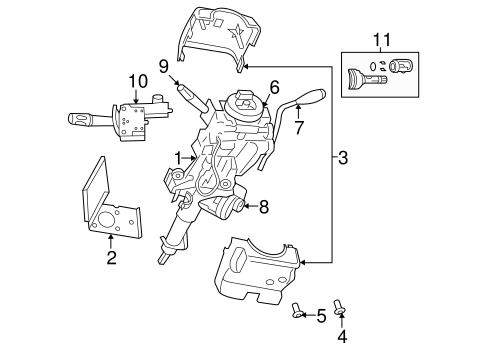 IGNITION SYSTEM for 2004 Dodge Durango