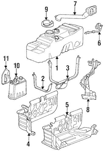 Mazda 6 Fuel Filler Cap