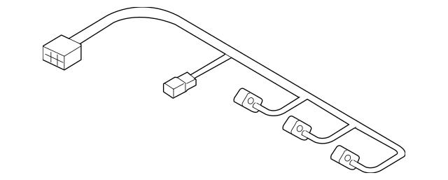 2006-2012 Hyundai Wire Harness 39610-3C010