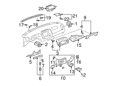 90 Toyota Camry Fuse Diagram Toyota Matrix Fuse Diagram
