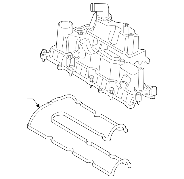Valve Cover for 2014 Ford Escape|BM5Z-6582-A : AutoNation