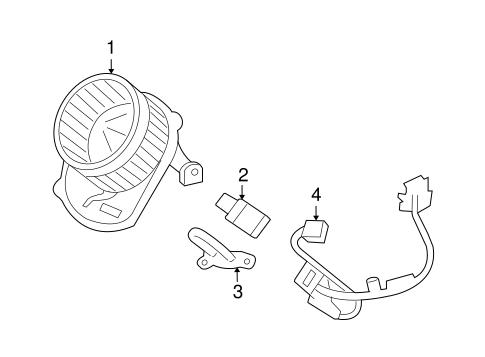Hummer H3 Blower Resistor Harness