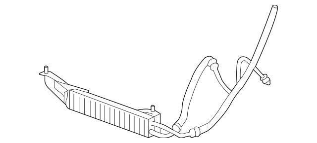 22950447 Power Steering Cooler Tube for 2012 GMC Savana