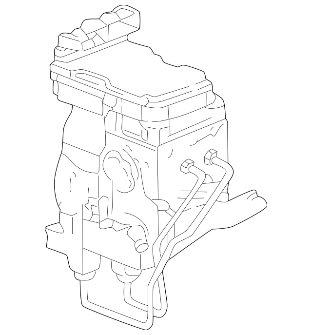 2000-2001 Dodge Dakota Hydraulic Control Unit 52010213AH