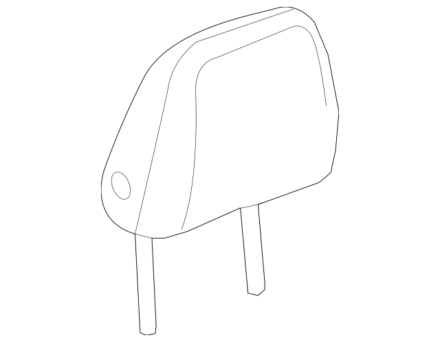 Genuine OEM 2016-2018 Chevrolet Cruze Headrest 84029000