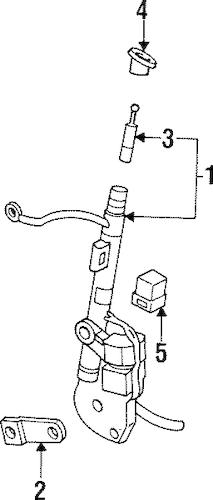 Mast for 1999 Oldsmobile Aurora|19151301 : Quirk Auto