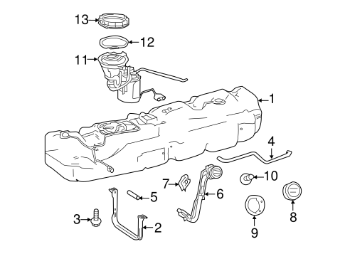 Fuel System Components for 2011 Mercedes-Benz Sprinter
