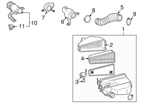 Genuine OEM Filters Parts for 2008 Toyota FJ Cruiser Base