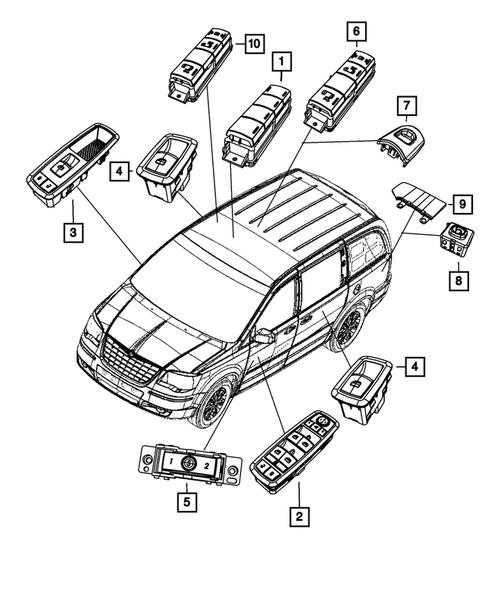 2014 Dodge Grand Caravan Transmission Dipstick Location