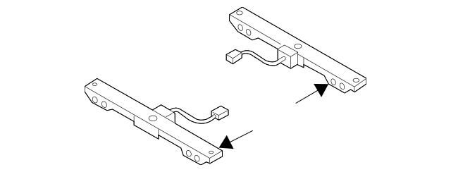 2007-2015 Mazda CX-9 Occupant Sensor LE43-67-WL0