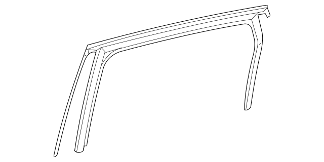 Mercedes-Benz Window Guide (246-735-07-00) For Sale