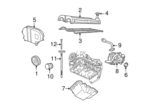 Engine Parts for 2005 Ford Escape