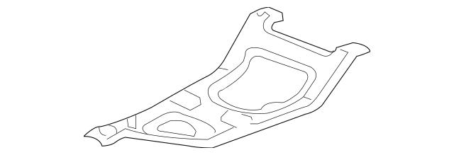 Genuine 2006-2014 Honda RIDGELINE SEDAN Bracket, Canister