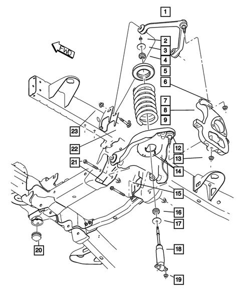Dodge Ram 1500 4wd 2001 | Energy Suspension Parts
