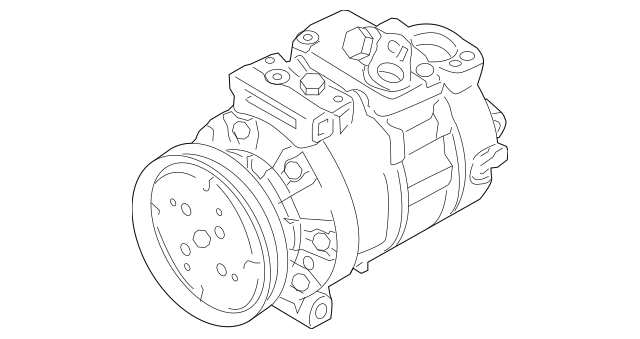 Genuine OEM Compressor Part# 1K0-820-808-F Fits 2005-2017
