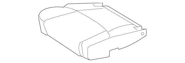 2005-2010 Toyota Avalon Cushion Cover 71071-AC300-B2