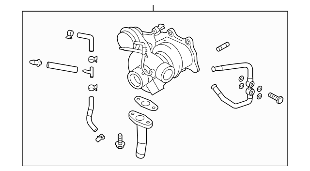 2004-2006 Subaru Turbo Assembly VIN REQUIRED 14411AA532R1