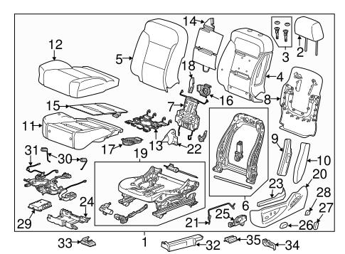 Heated Seats Parts for 2014 Chevrolet Silverado 1500