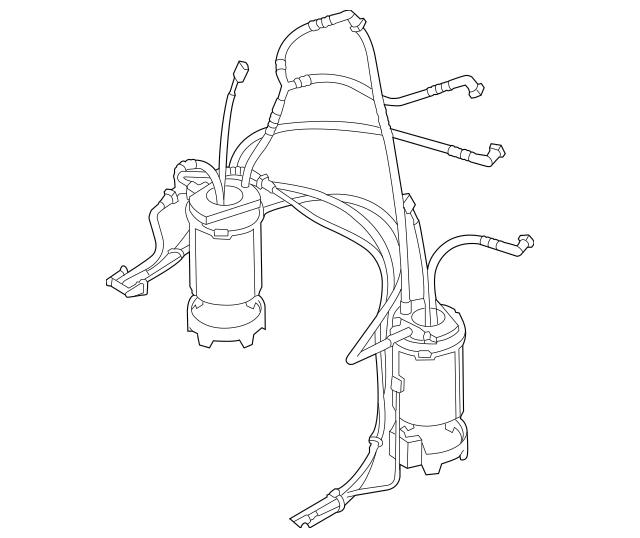 2011-2016 Volkswagen Touareg Fuel Pump Assembly 7P6-919