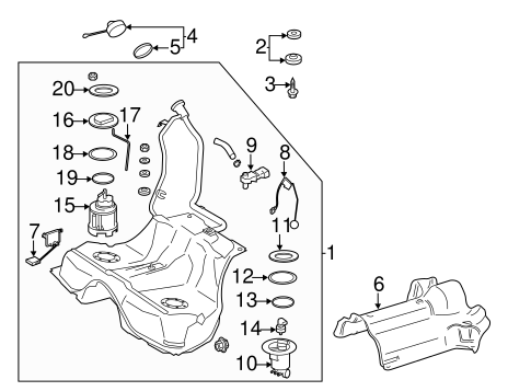 Fuel System Components for 2014 Mercedes-Benz CL 63 AMG