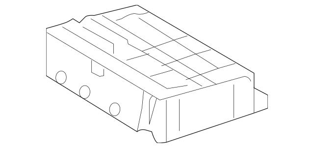 2014-2015 Toyota Land Cruiser Fuse & Relay Box 82741-60061