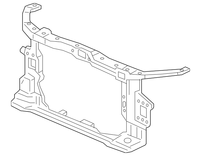 2017-2020 Honda CIVIC 5-DOOR Bulkhead Assembly, Front