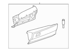 2007-2011 Toyota Camry Glove Box Assembly 55303-06171-B0