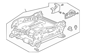 2003-2006 Honda Device, L Front Seat 81510-SDB-A73