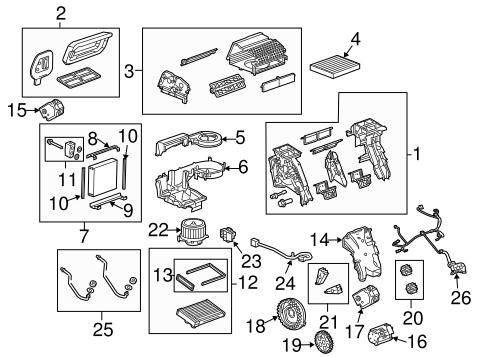 OEM 2014 Buick Regal Blower Motor & Fan Parts