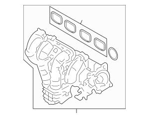 Genuine OEM 2005-2008 Ford Intake Manifold 5L8Z-9424-A