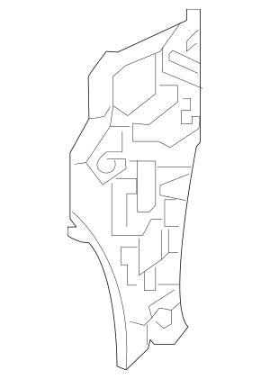 Honda Pillar, L Front (Lower) (Inner) (64531-TBA-305ZZ