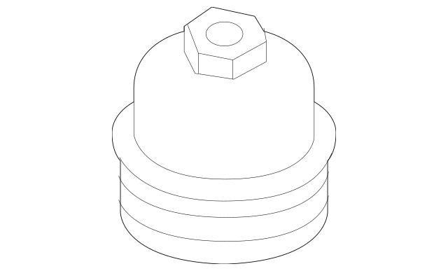 2017-2020 Hyundai Engine Oil Filter Housing Cap 26350