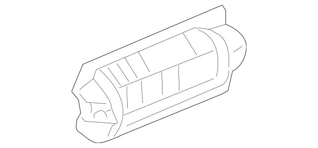 2002-2005 Honda CIVIC HATCHBACK Cover (Upper) 18182-PND