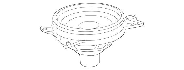 2005-2010 Toyota Avalon Pkg Tray Speaker 86160-AC250
